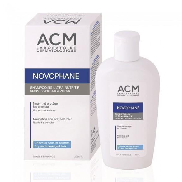 Sampon ultra nutritiv pentru par uscat Novophane, 200ml, ACM drmax.ro