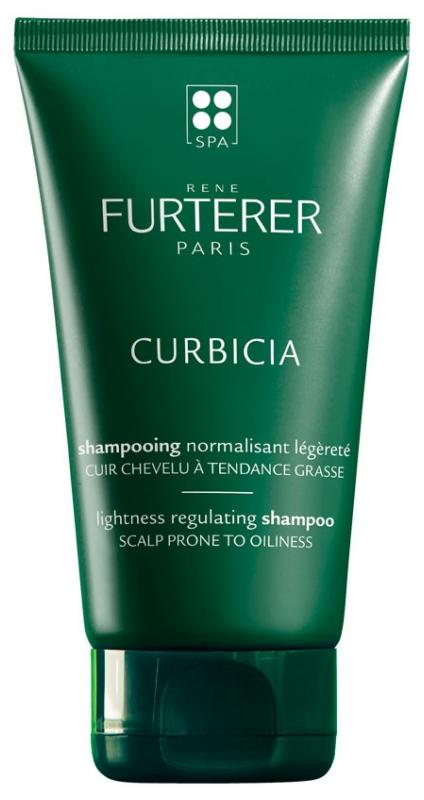 Sampon purifiant pentru scalp cu tendinta de ingrașare Curbicia, 150 ml, Rene Furterer
