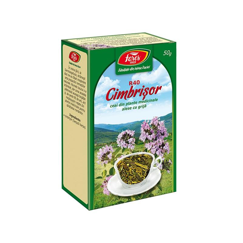 Ceai Cimbrisor, 50 g, Fares drmax poza