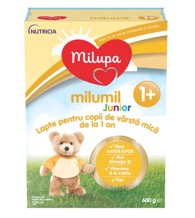 Lapte praf PreciNutri Milumil Junior, incepand de la 12 luni, 600 g, Milupa drmax poza