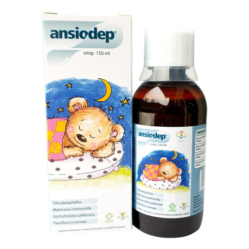Ansiodep sirop, 150 ml, Dr. Phyto drmax.ro
