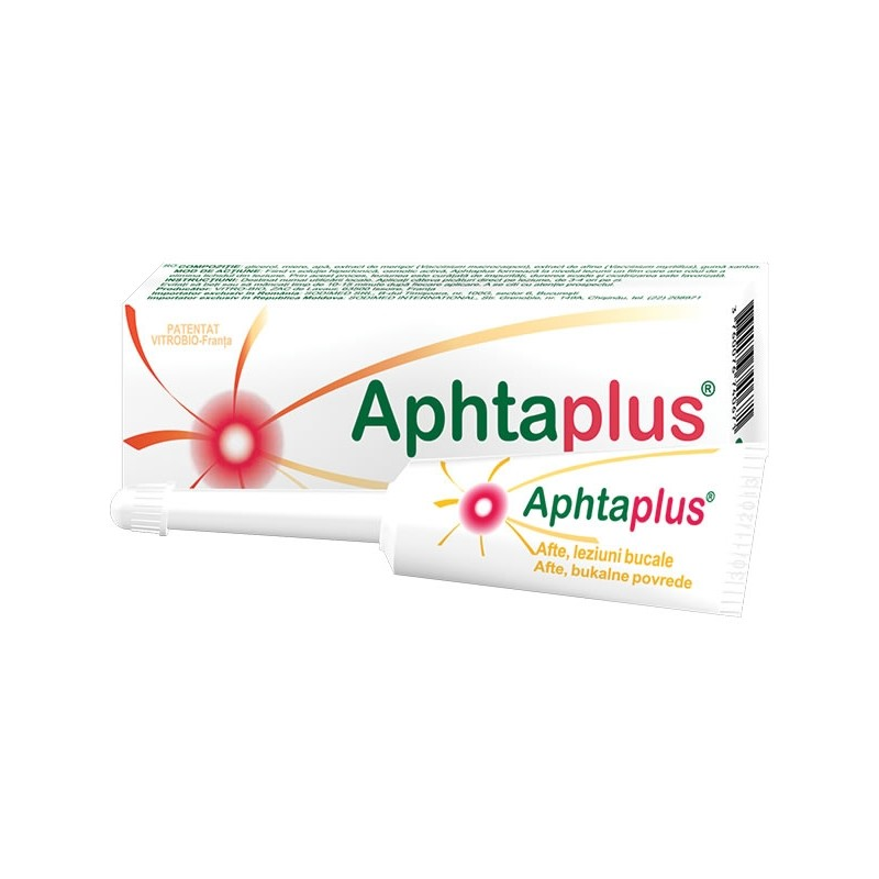 Aphtaplus tratament pentru afte, 10 ml, Biessen Pharma