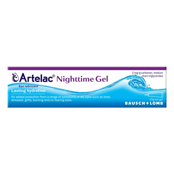 Artelac Night gel oftalmic, 10 ml, Bausch&Lomb drmax.ro