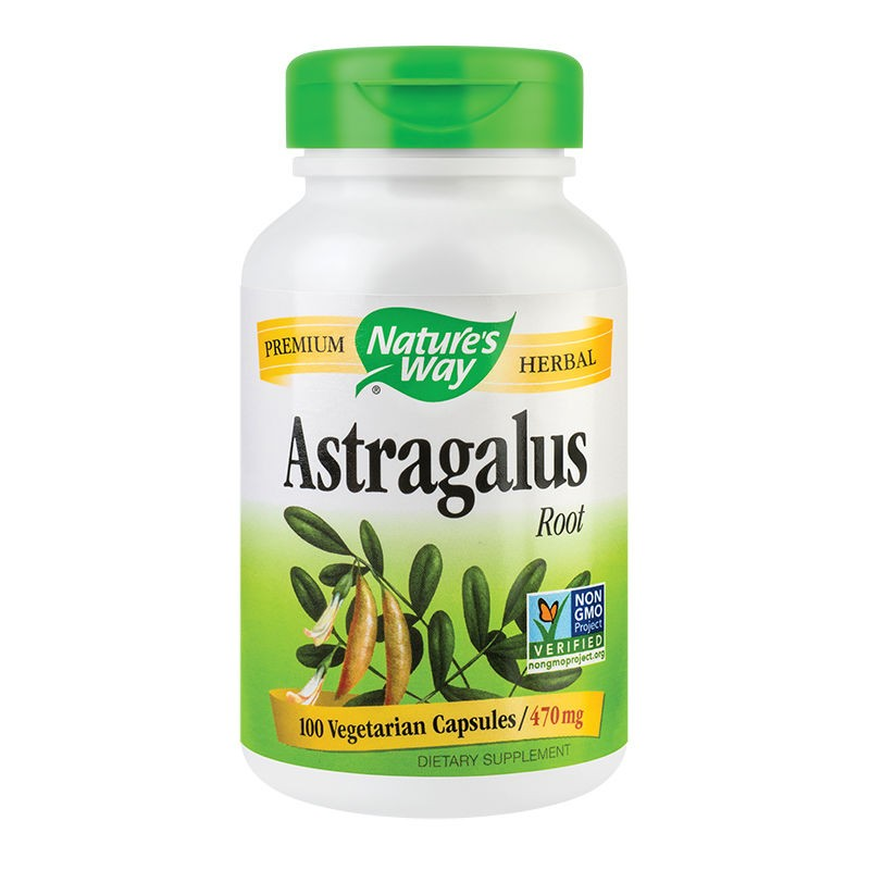 Astragalus, 100 capsule, Secom imagine produs 2021