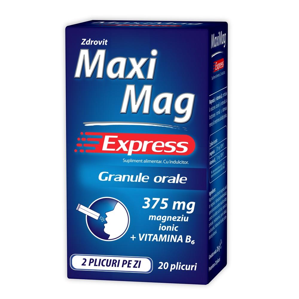 Maximag Express, 20 plicuri, Zdrovit imagine produs 2021