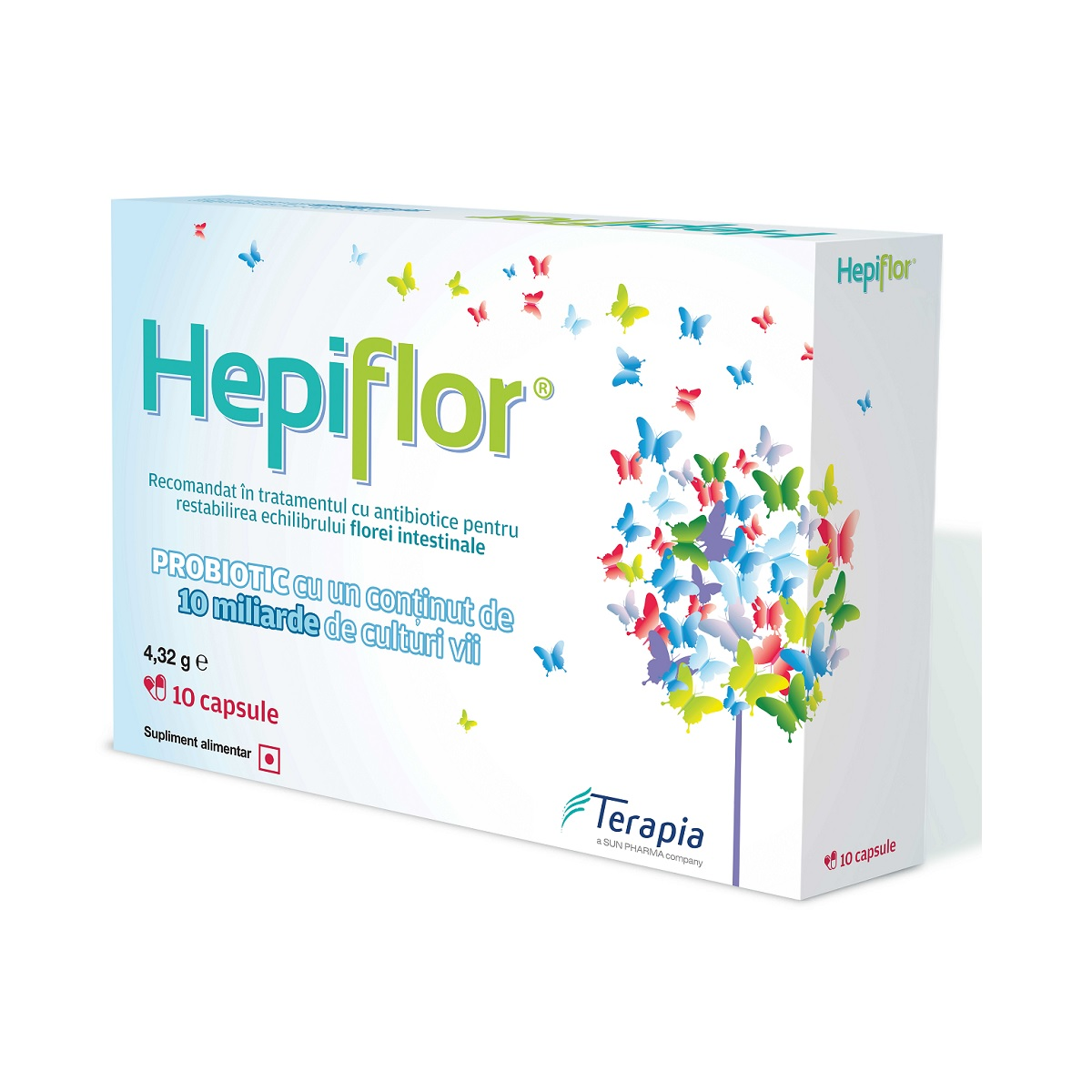 Hepiflor, 10 capsule, Terapia imagine produs 2021