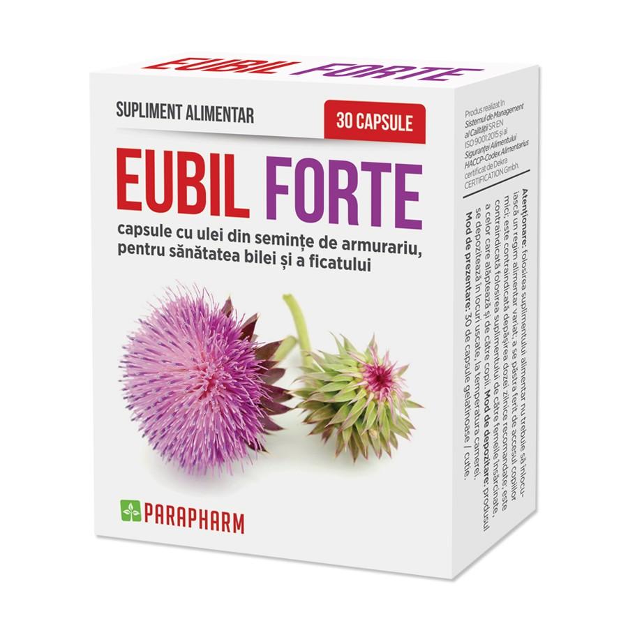 Eubil Forte, 30 capsule, Parapharm imagine produs 2021