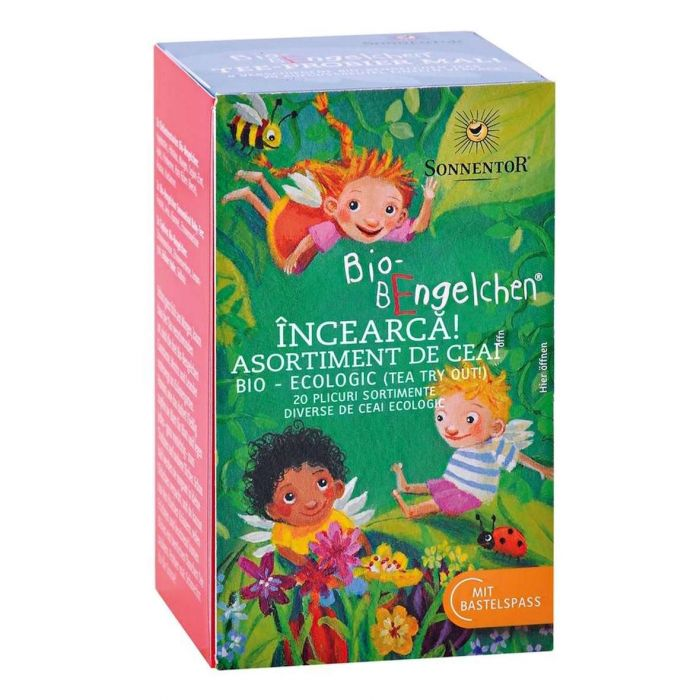 Ceai Bio Ingerasii Strengari Incearca, 20 plicuri, Sonnentor drmax.ro