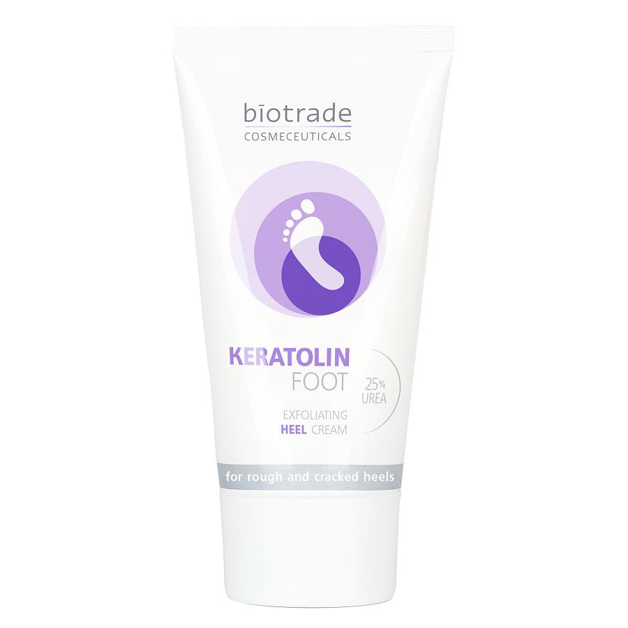 Crema hidratanta pentru picioare cu 25% uree Keratolin Foot, 50ml, Biotrade drmax.ro
