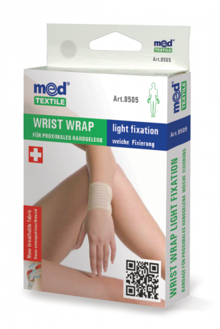 Bandaj elastic pentru incheietura mainii L/XL, 1 bucata, MedTextile drmax.ro