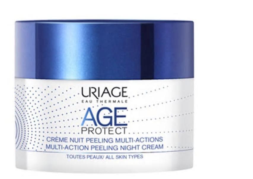 Crema de noapte peeling antiaging Age Protect, 50ml, Uriage imagine produs 2021