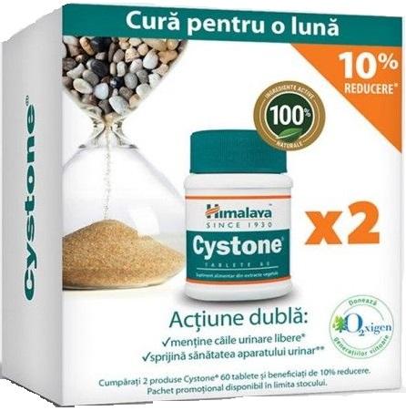 Cystone pachet 60 + 60 tablete, 10% reducere, Himalaya imagine produs 2021