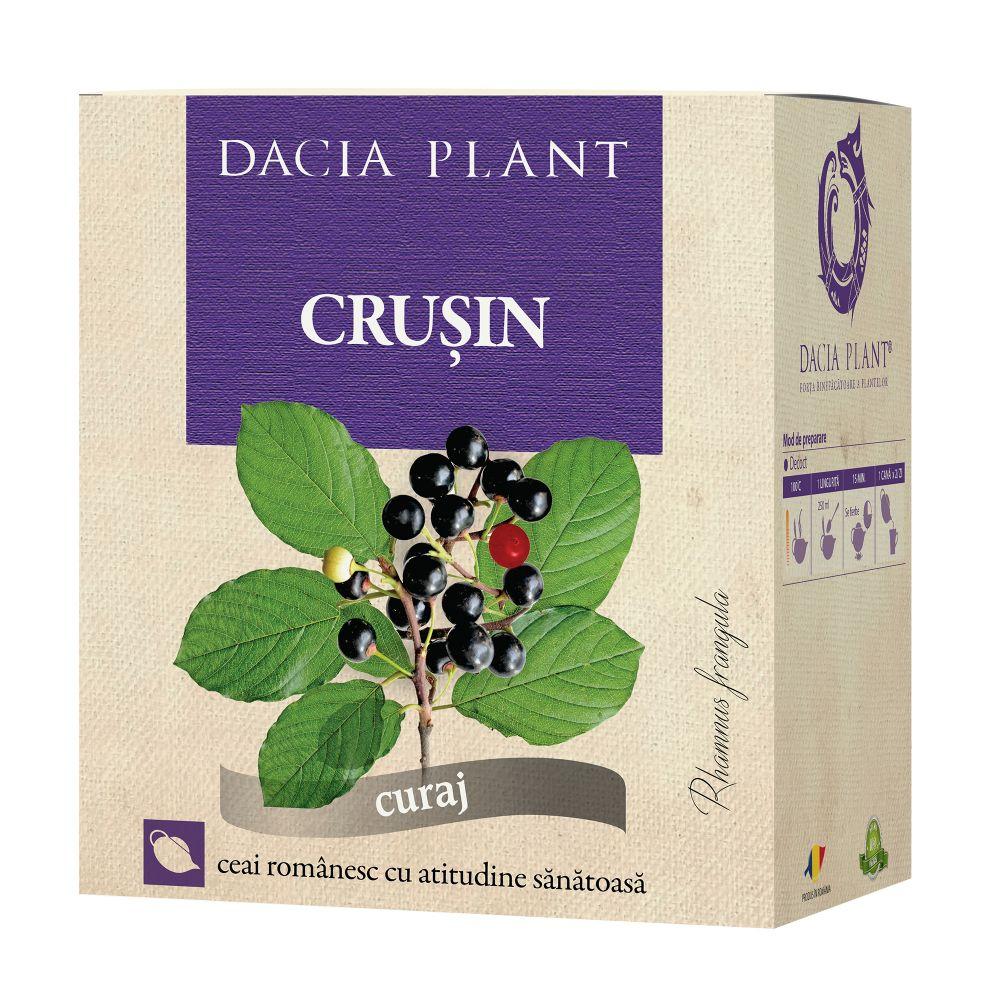 Ceai de crusin, 50g, Dacia Plant drmax.ro