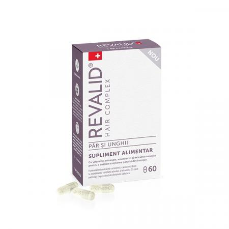 Revalid Hair Complex, 60 capsule, Ewopharma drmax.ro