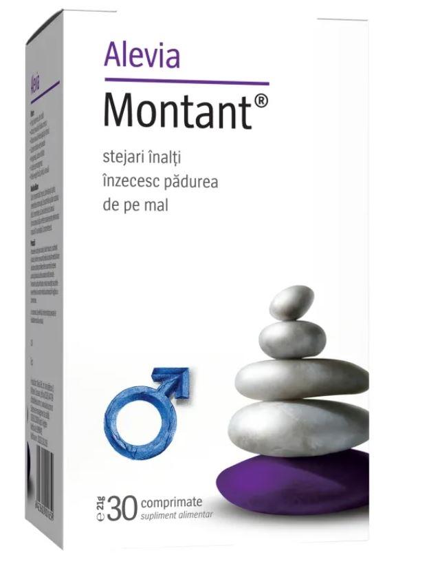 Montant, 30 comprimate, Alevia drmax poza