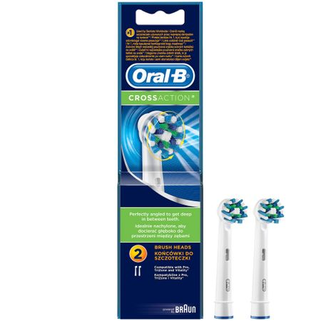 Oral B Rez Per Elec Cross Action Eb50 2Ct