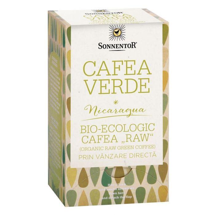 Cafea Bio Verde Raw, 18 plicuri, Sonnentor drmax.ro