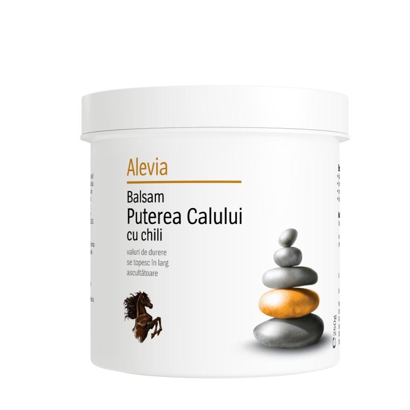 Balsam Puterea Calului cu chili, 250 g, Alevia drmax.ro