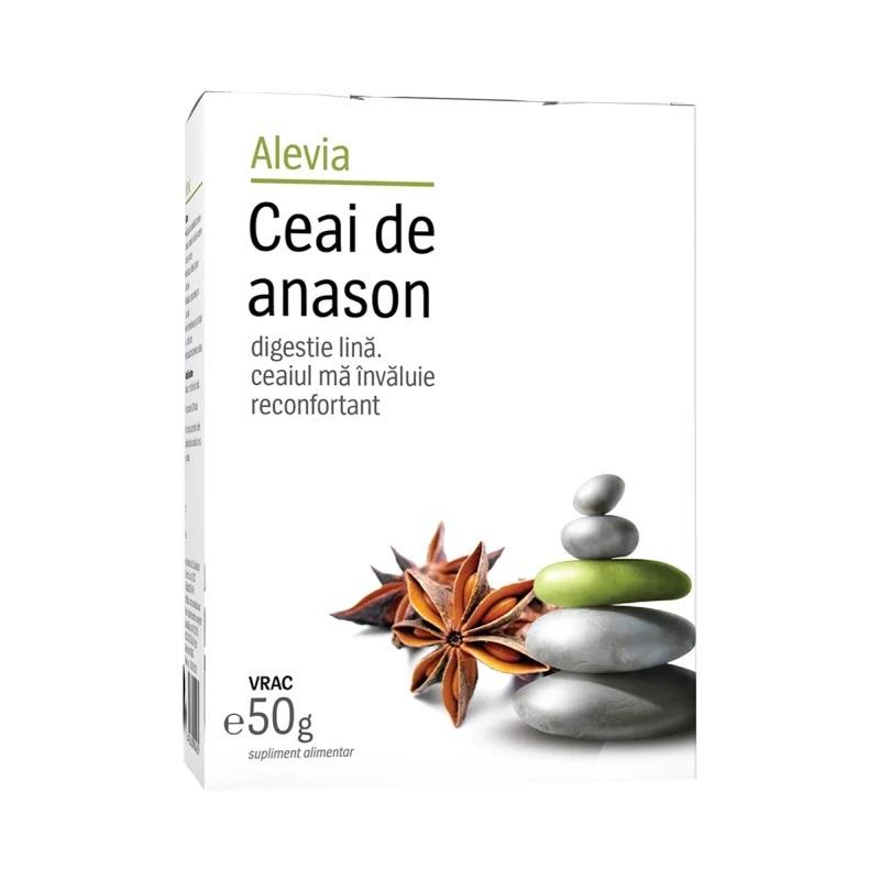 Ceai de anason, 50g, Alevia imagine produs 2021