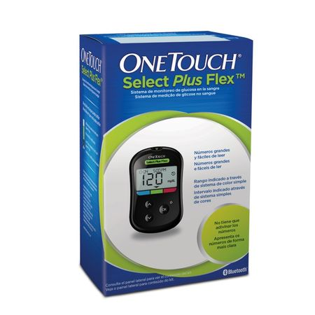 Glucometru One Touch Select Plus felxibil, Lifescan drmax poza