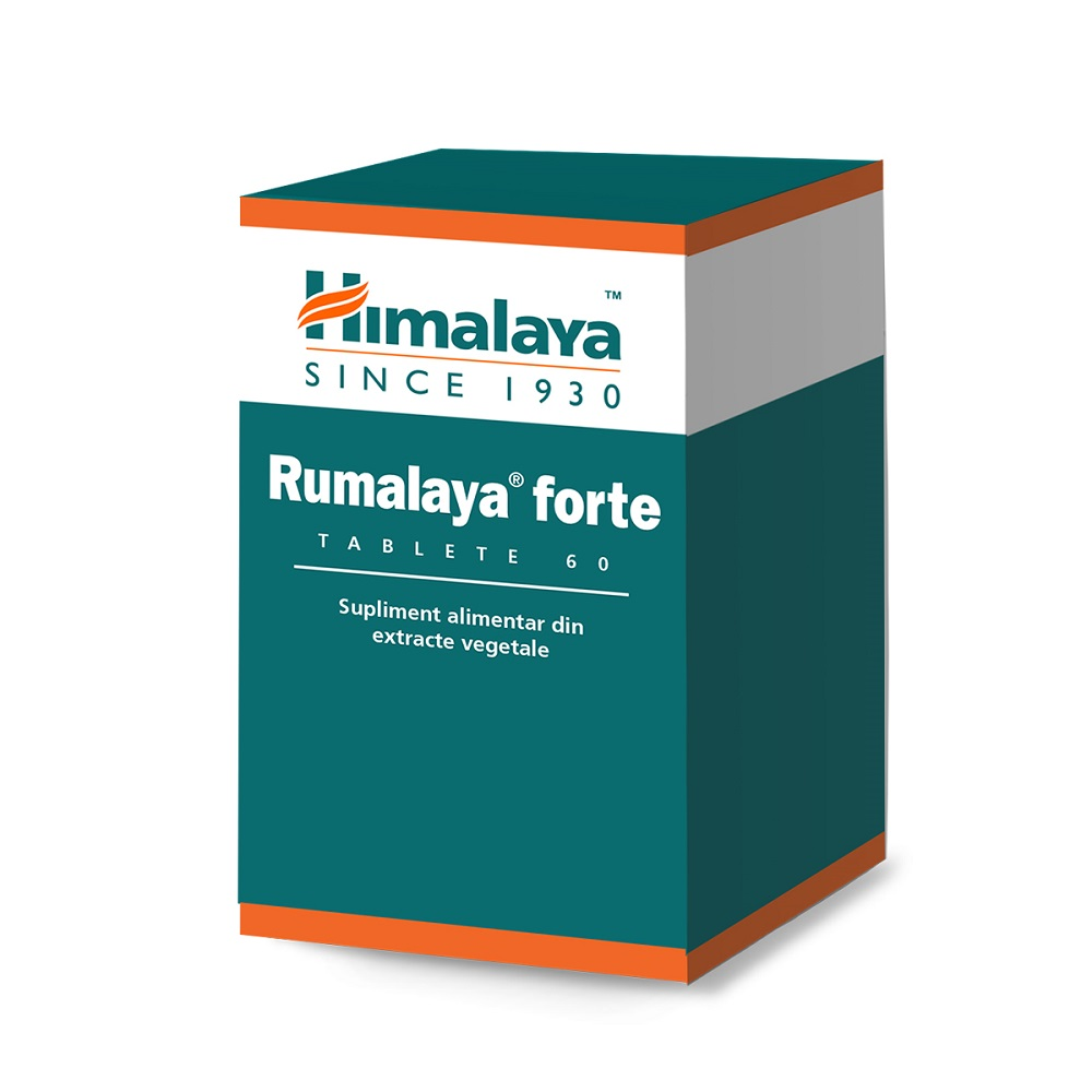 Rumalaya Forte, 60 tablete, Himalaya drmax poza
