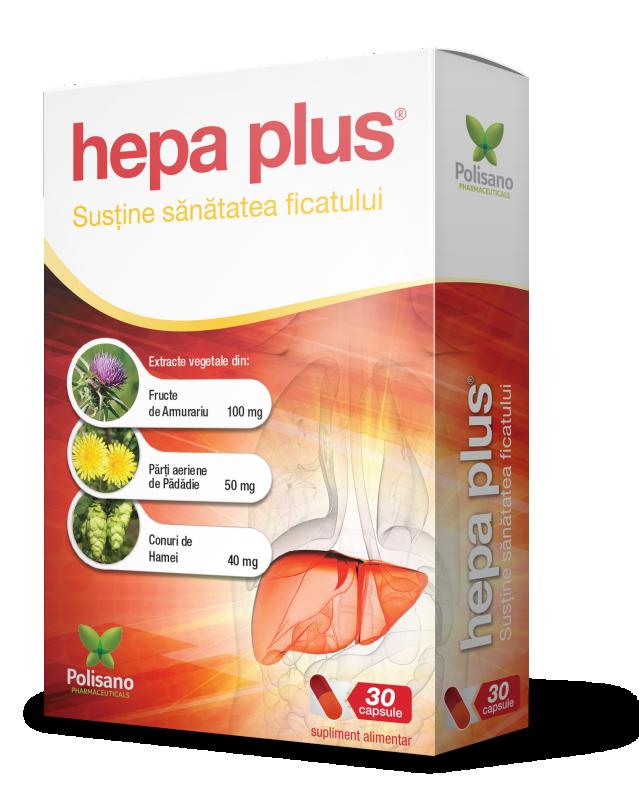 Hepa Plus, 30 capsule, Polisano imagine produs 2021