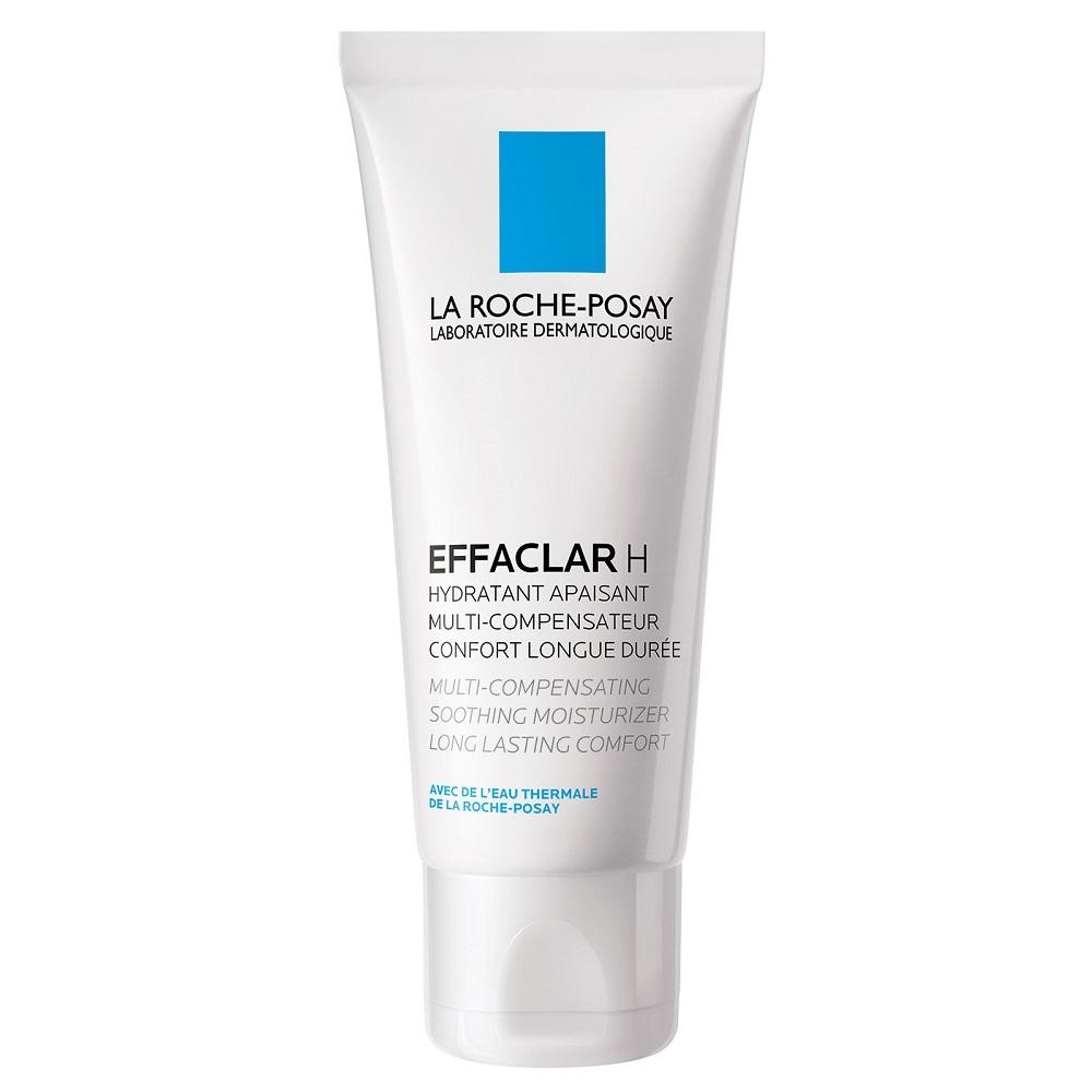 Crema hidratanta calmanta piele grasa fragilizata Effaclar H, 40ml, La Roche-Posay drmax.ro