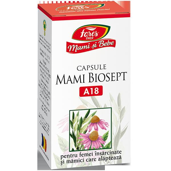 Biosept Mami si bebe, 30 capsule, Fares imagine produs 2021