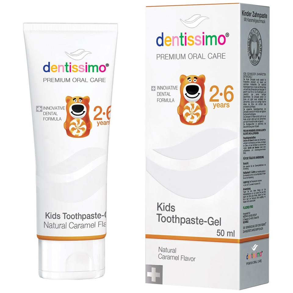 Pasta de dinti pentru copii, 50ml, Dentissimo drmax.ro