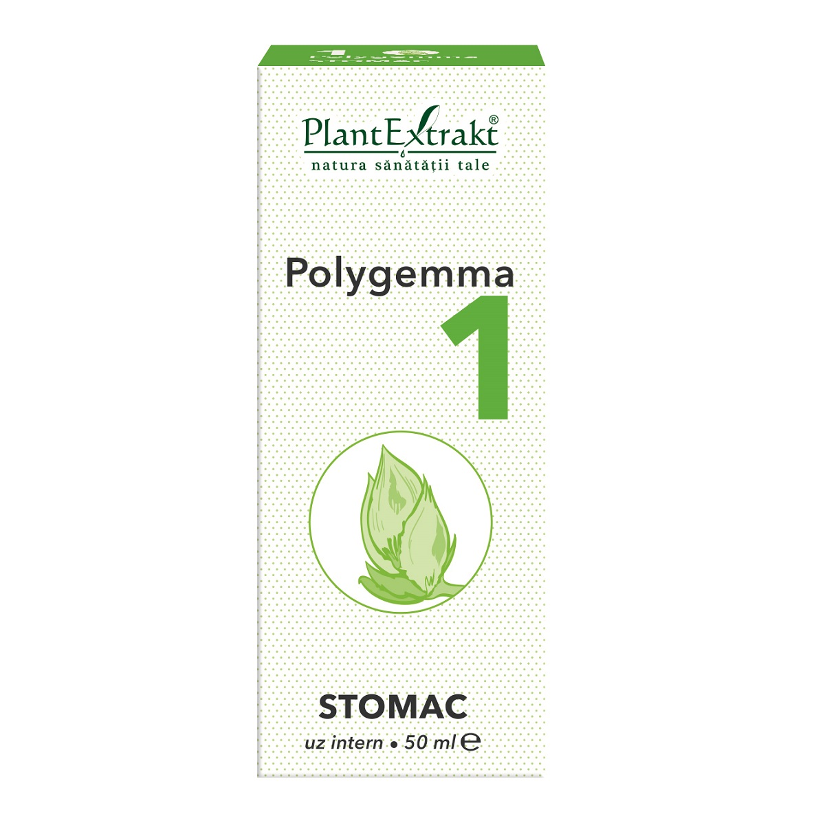 Polygemma 1 Stomac, 50ml, Plant Extrakt imagine produs 2021
