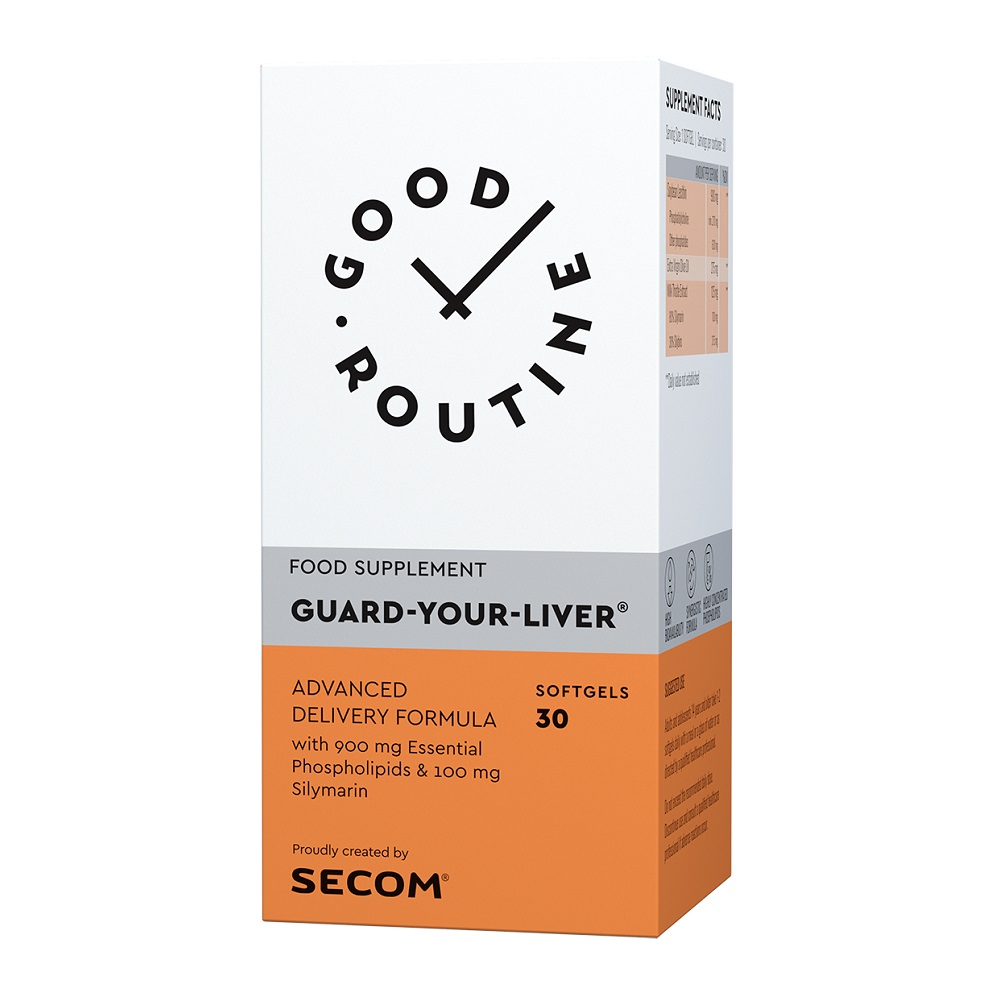 Guard Your Liver Good Routine, 30 capsule, Secom drmax poza