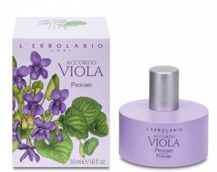 L'Erbolario, Apa de parfum Accordo Viola, 50ml drmax.ro