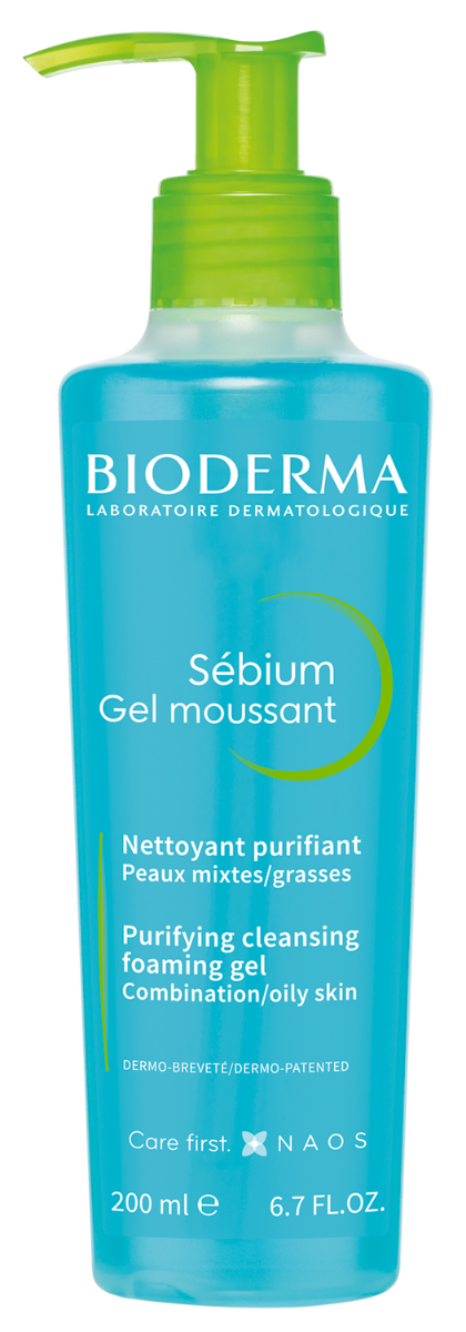 Gel spumant Sebium, 200ml, Bioderma drmax.ro