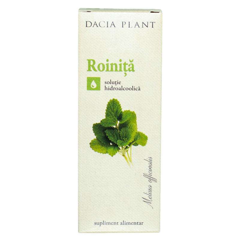 Tinctura de roinita, 50ml, Dacia Plant drmax.ro
