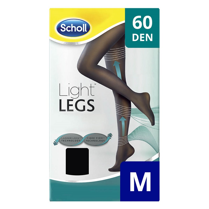 Ciorapi compresivi Light Legs 60 DEN, marime M, Scholl imagine produs 2021