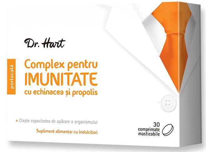 Dr.Hart Complex pentru imunitate, 30 comprimate masticabile imagine produs 2021