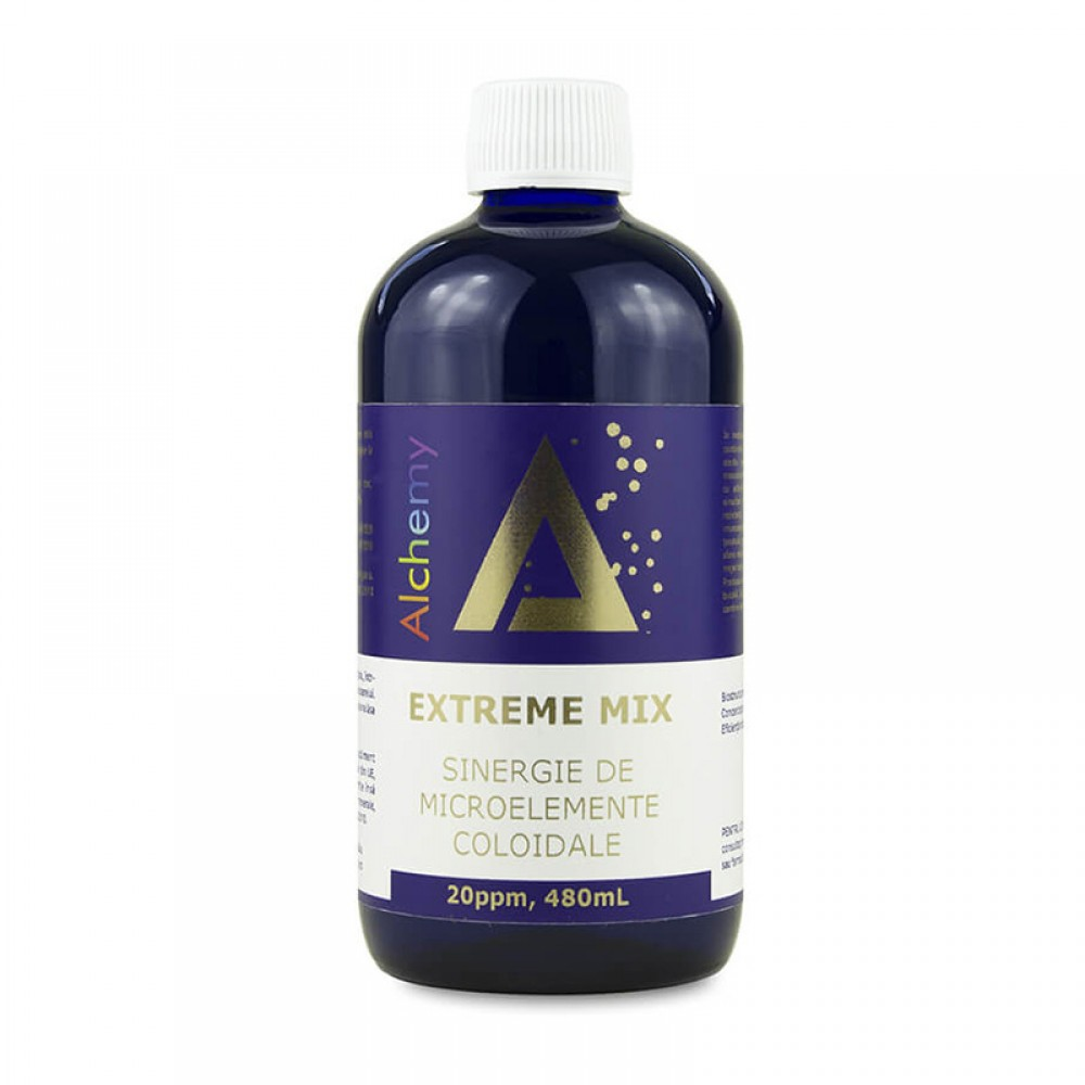 Extreme Mix Sinergie de Microelemente 20ppm Alchemy, 480ml, Aghoras drmax.ro