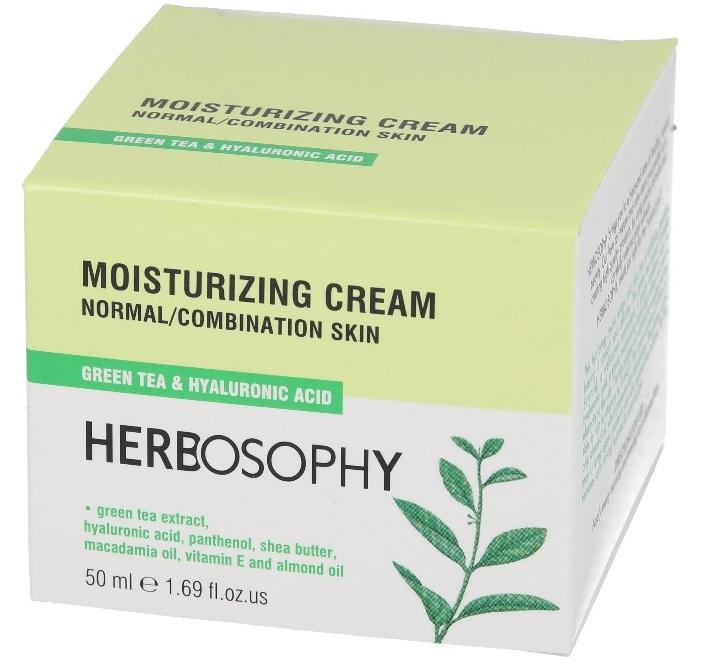 Herbosophy, Crema hidratanta pentru ten normal/mixt, 50ml