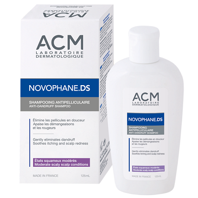 Sampon antimatreata Novophane DS, 125ml, ACM