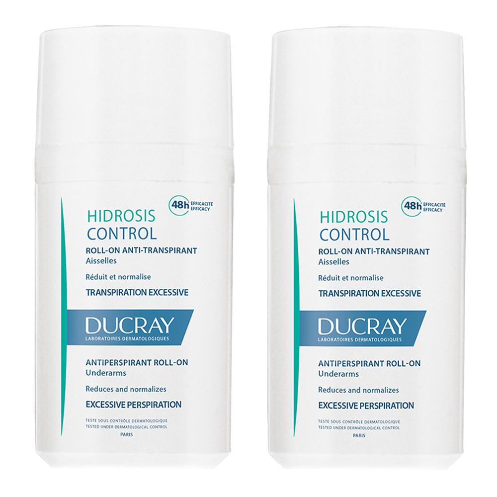 Pachet Roll-on anti-perspirant Hidrosis Control, -50% reducere la cel de-al doilea produs, 40ml, Ducray