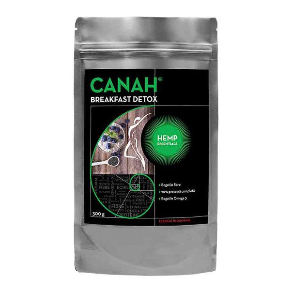 Fibre din seminte de canepa Breakfast Detox, 300g, Canah drmax.ro