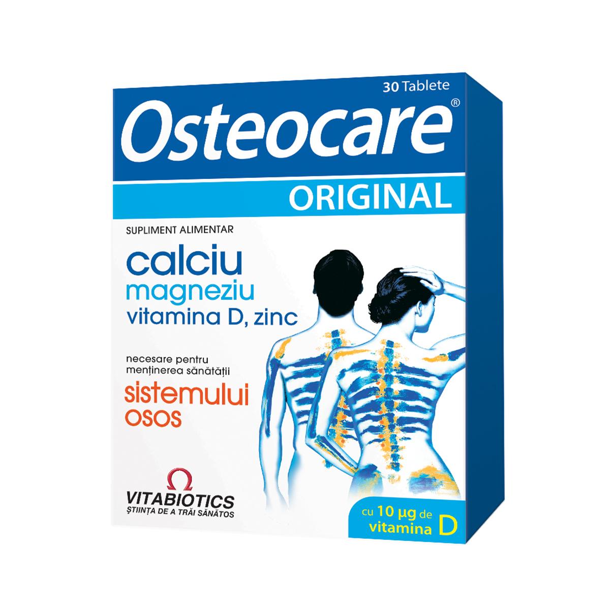 Osteocare original plus, 30 comprimate, Vitabotics imagine produs 2021