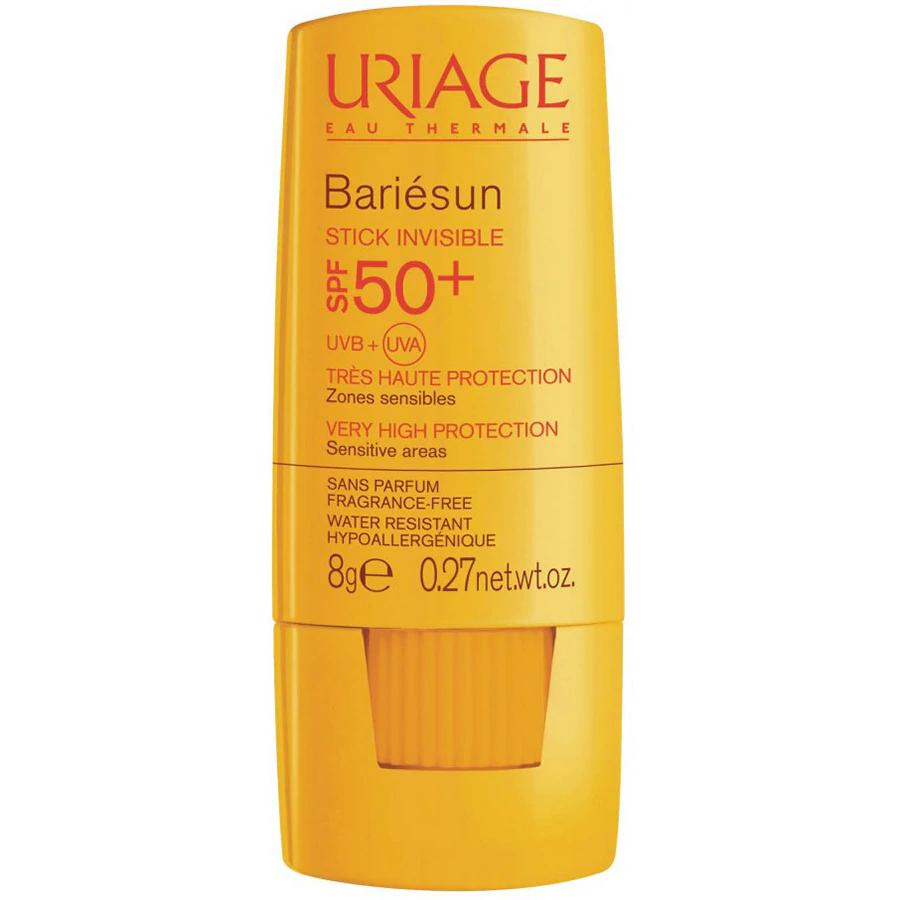 Stick invizibil protectie solara SPF 50+ Bariesun, 8g, Uriage drmax.ro