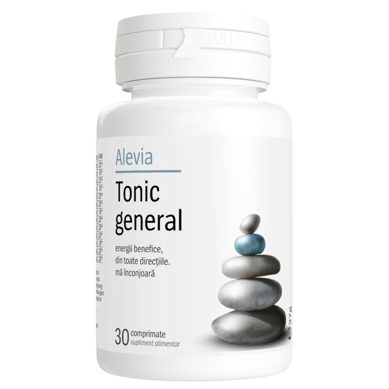 Tonic general, 30 comprimate, Alevia drmax.ro