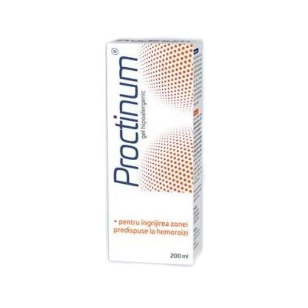 Proctinum gel hipoalergenic pentru igiena ano-rectala, 200 ml, Zdrovit drmax.ro