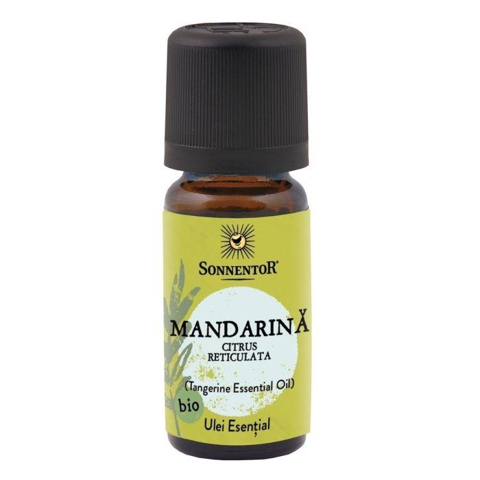 Ulei Bio Esential Mandarina (Citrus reticulata), 10ml, Sonnentor drmax.ro