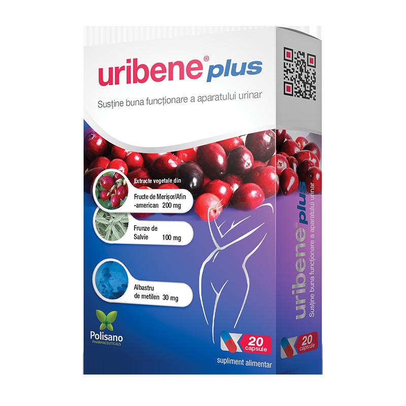 Uribene Plus, 20 capsule, Polisano imagine produs 2021