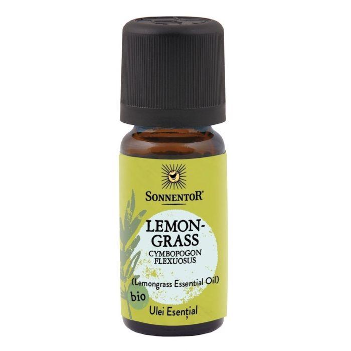 Ulei Bio Esential Lemongras (Cymbopogon flexuosus), 10ml, Sonnentor la preț mic imagine