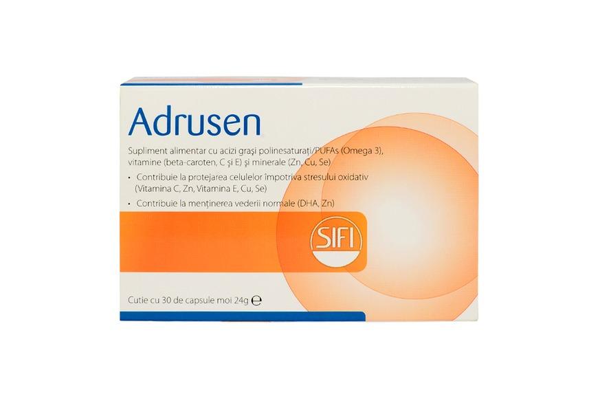 Adrusen, 30 capsule, Sifi drmax poza