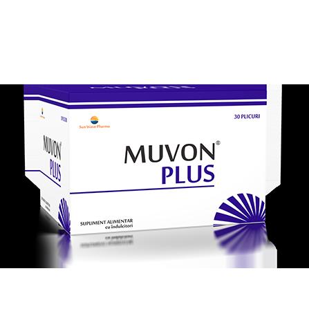 Muvon Plus, 30 plicuri, Sunwave imagine produs 2021